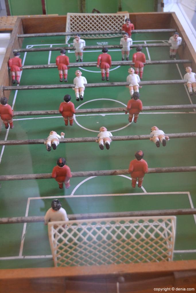 Juego de futbolín
