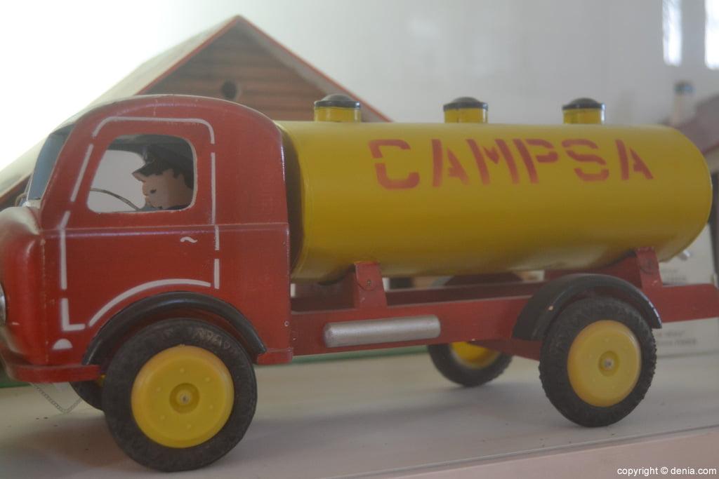 Camión cisterna Campsa
