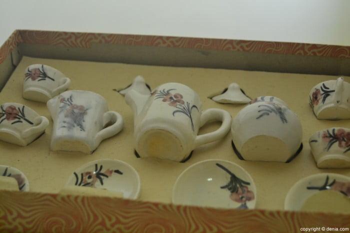 Juego de café de porcelana