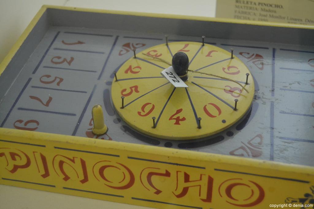 ruleta Pinotxo