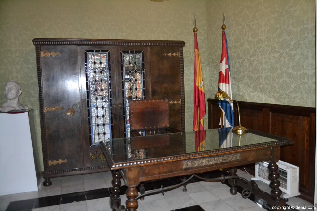 Aula de Juan Chabàs en el Museo Etnológico de Dénia