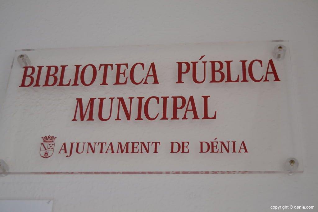 Biblioteca municipal de Dënia