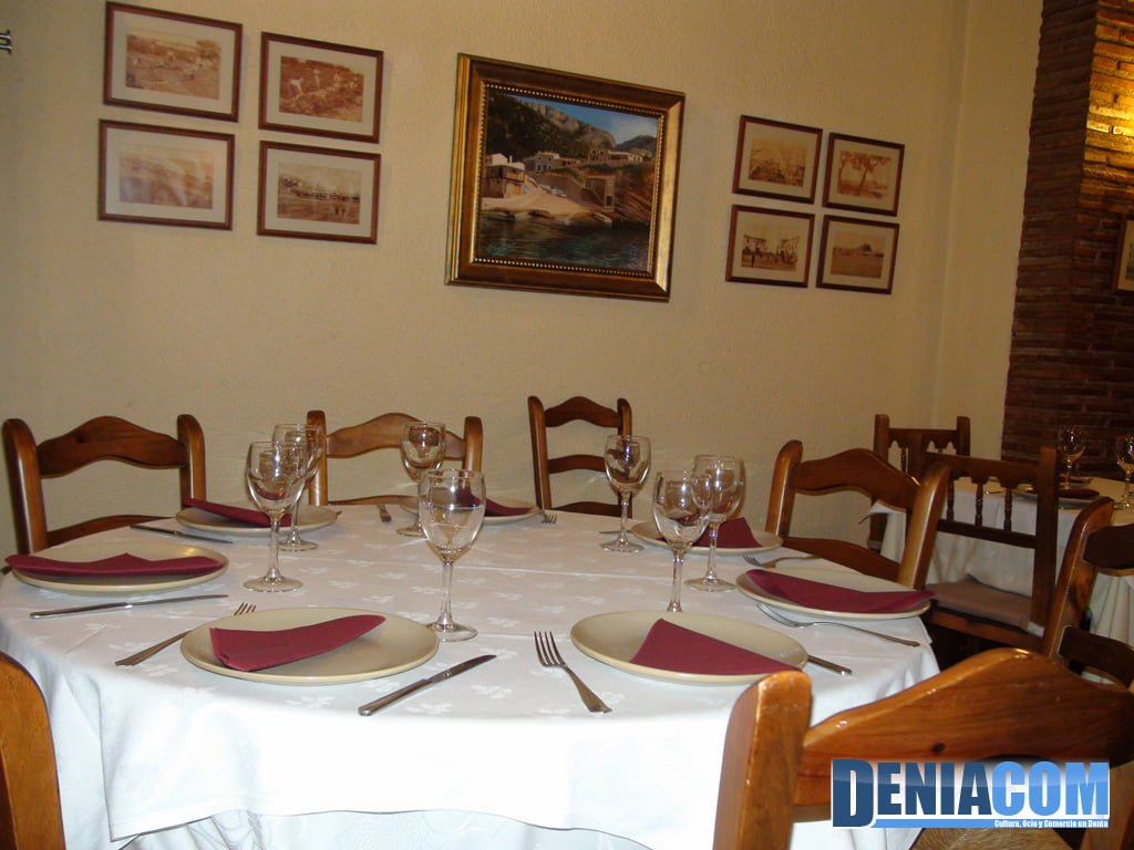 Comedor del Restaurante Sandunga 52 Dénia