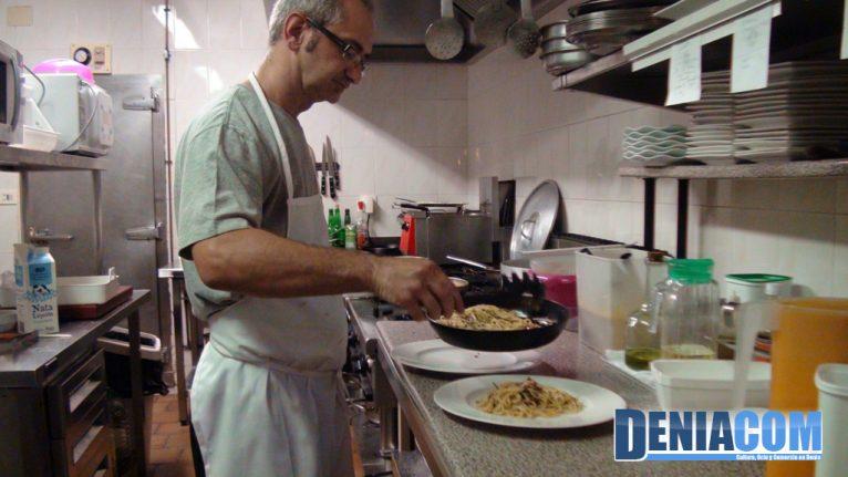 En la cocina del Resturante Sandunga 52