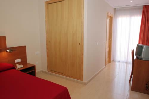 Kamer van Hotel Adsubia de Dénia