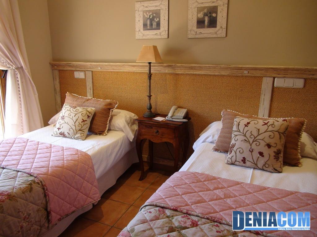 Habitación doble en el Hotel Los Ángeles
