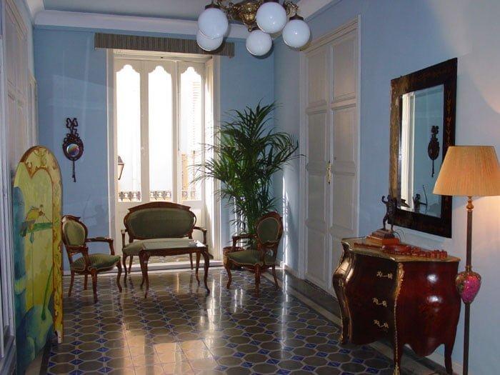 Hal van het hotel Chamarel Dénia