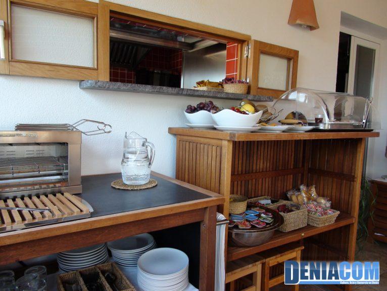 Hotel Noguera Mar - Buffet esmorzar