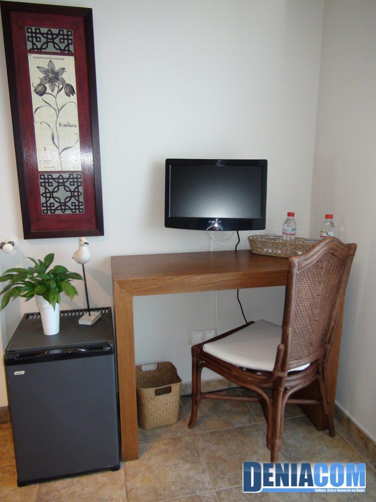 Hotel Noguera Mar - Detalle de la habitación