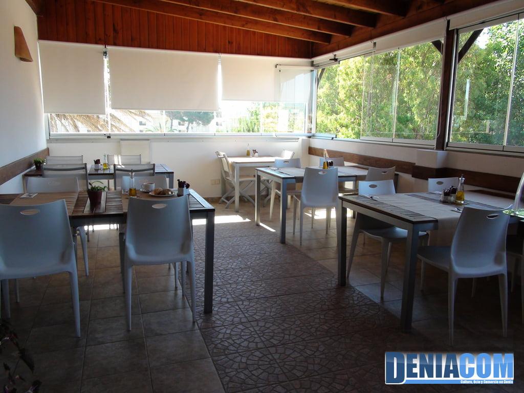 Hotel Noguera Mar a Dénia - esmorzar