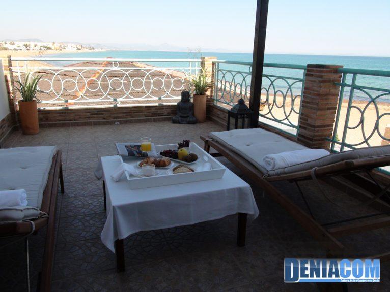 Hotel Noguera Mar a la platja de Dénia