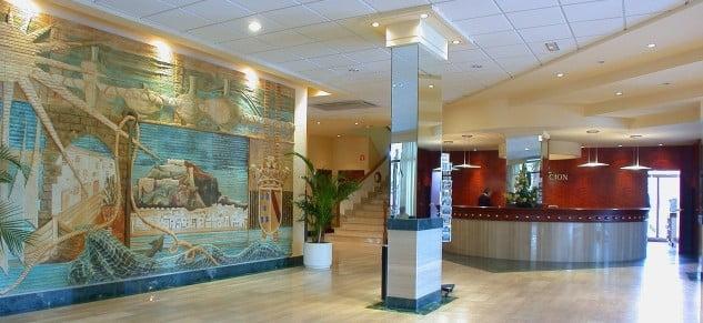 Hotel Port Dénia - Recepción