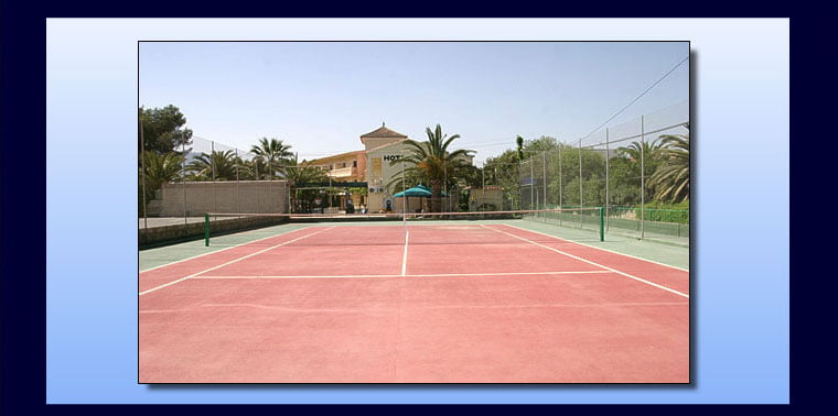 Hotel Rosa - Court de tennis
