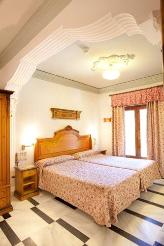Hotel Rosa à Dénia - Chambre