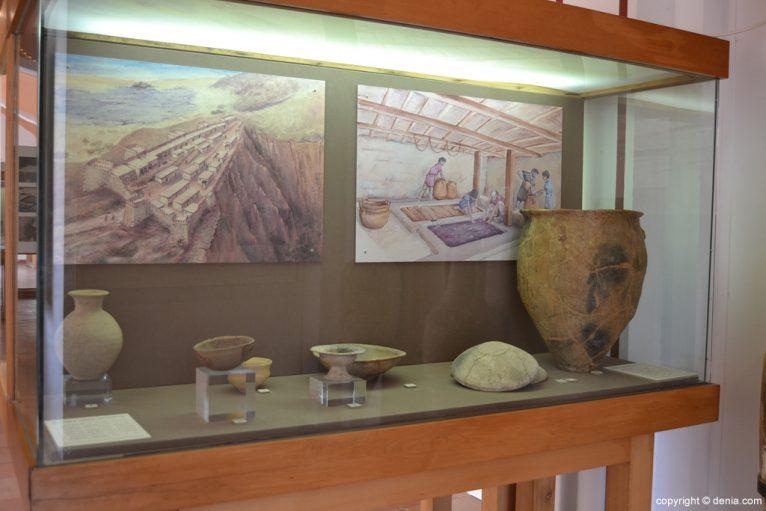 Materiales arqueológicos del poblado ibérico del Alto de Benimaquia