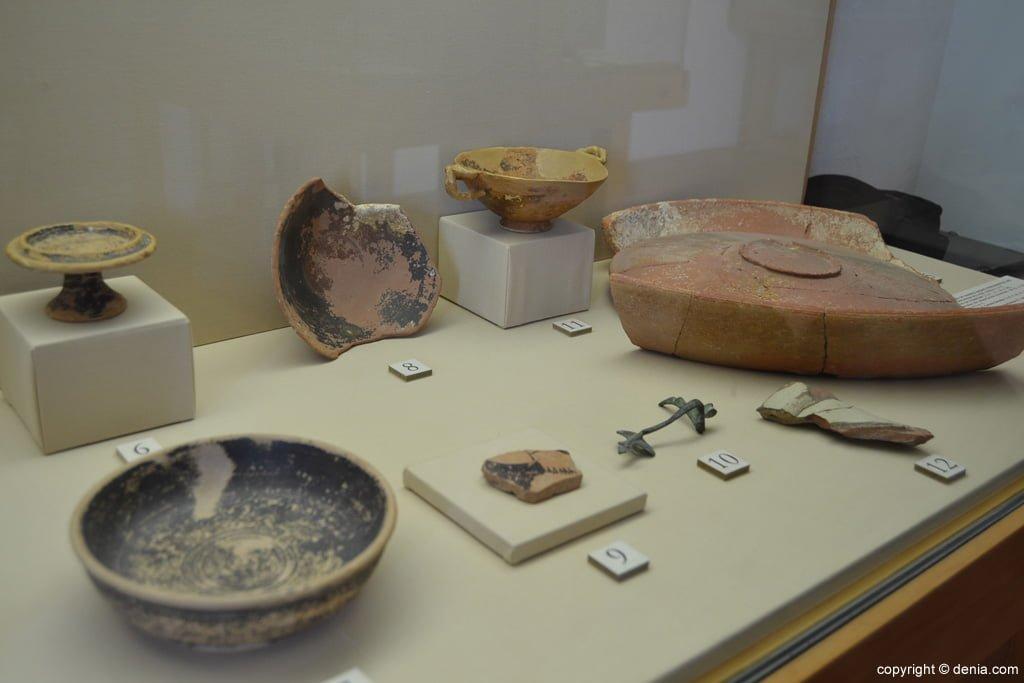 Museo Arqueológico de dénia – Cerámicas