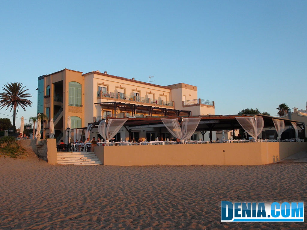Noguera Mar Hotel, Denia beach side.