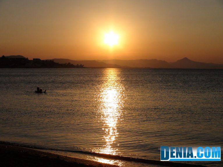 Noguera Mar Hotel, puestas de sol junto al mar desde su terraza