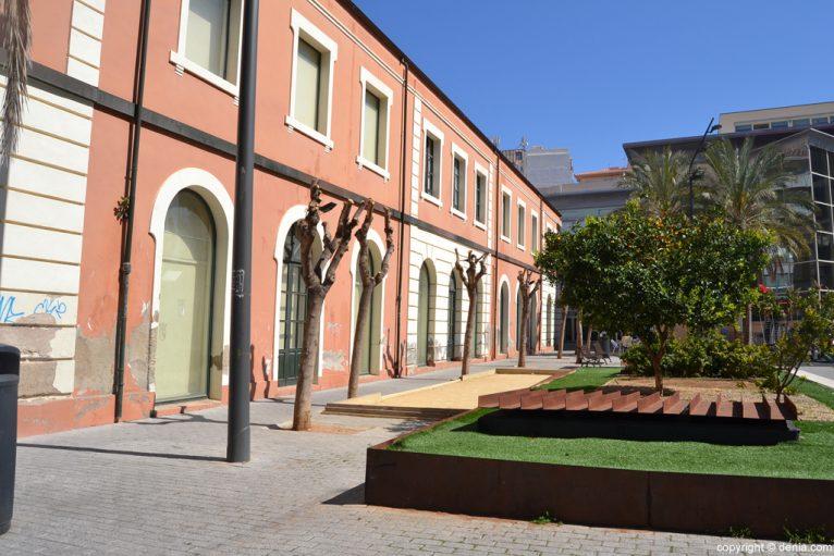Parte trasera del Centre d'art l'Estació