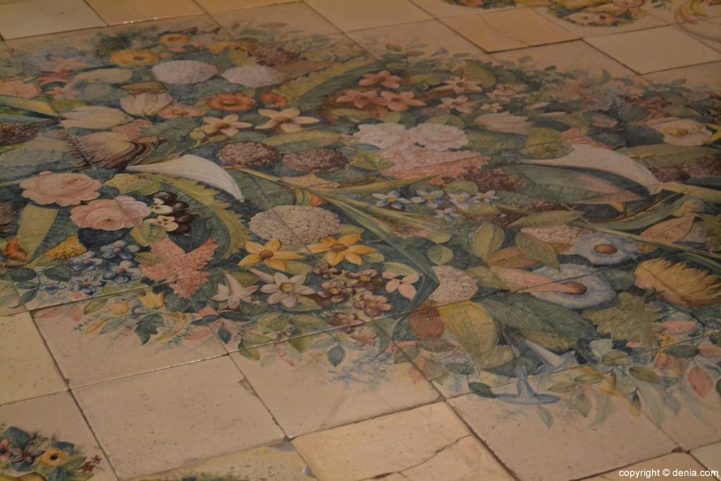 Pavimento cerámico del pintor Francisco Dasi