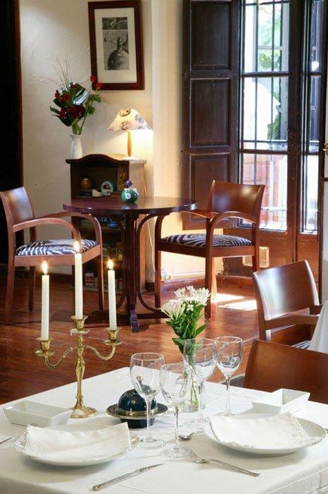 Restaurant van Hotel Chamarel Dénia