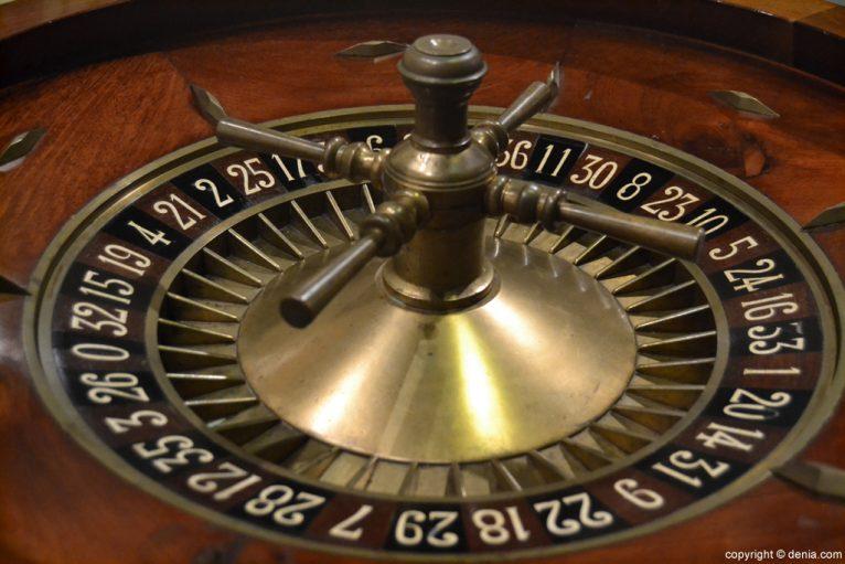 Ruleta de casino del S XIX