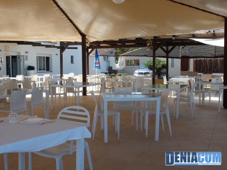 Terrassa del Restaurant Noguera Dénia