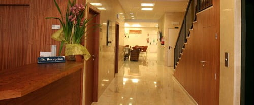 Lobby van Hotel Adsubia de Dénia