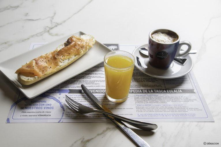 Desayunos en Tasca Eulalia