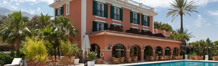 Exterior Hotel Les Rotes