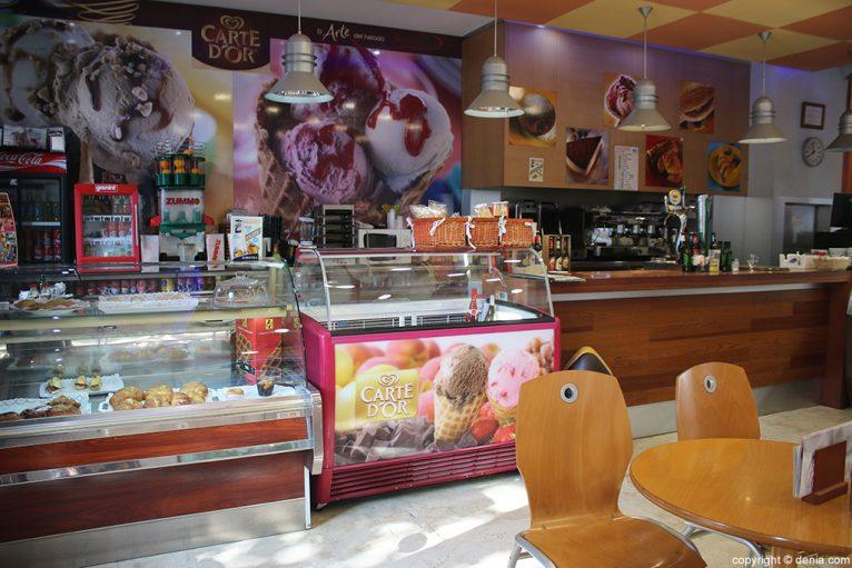 Cafetería Mon Blau
