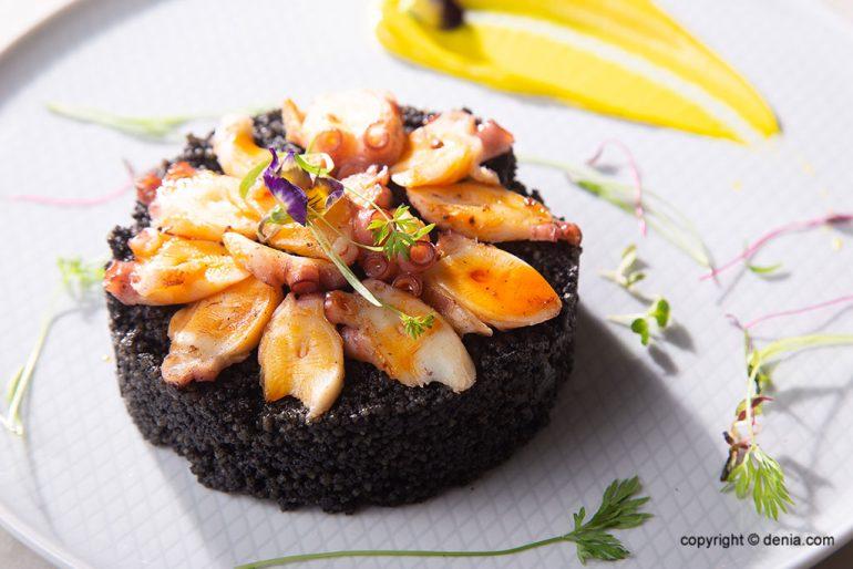El pop forma part de la cuina típica de Dénia - La Cova Tallà
