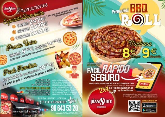 Imagen: Las mejores pizzas de Denia - Pizza Store