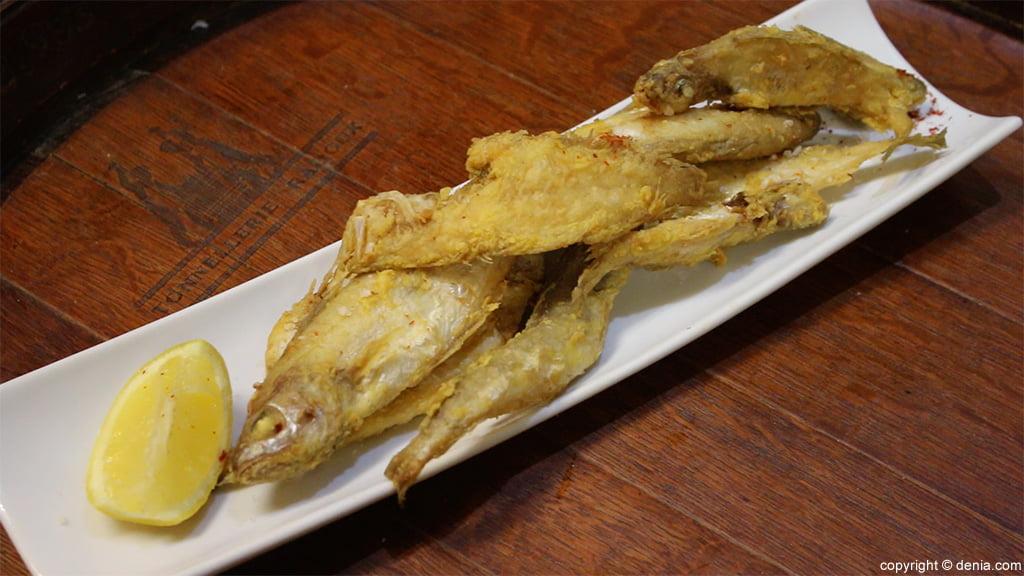 Peixet fregit Miguel Juan