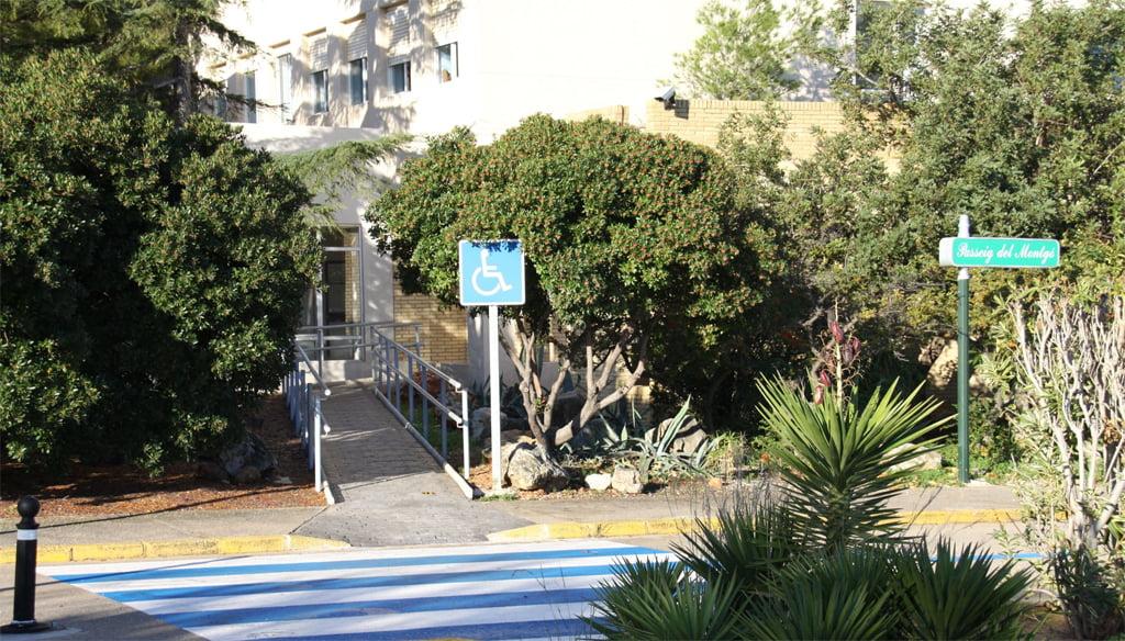 Hospital La Pedrera Dénia access