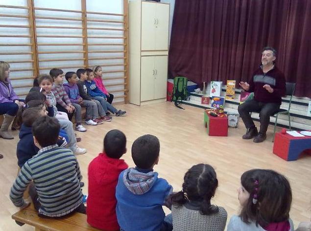 Actividades en el colegio Cervantes