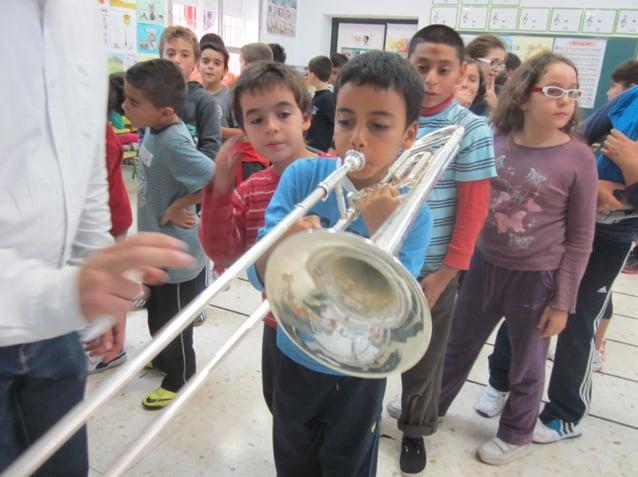 Actividades musicales en el Colegio Cervantes