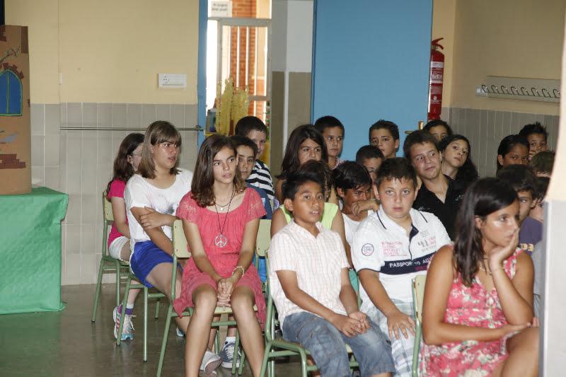 Alumnos del colegio pou de la muntanya