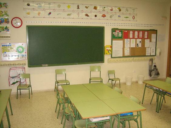 Aula de educación infantil del colegio Montgó