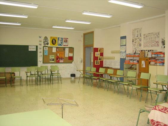 Aula de música del colegio Montgó