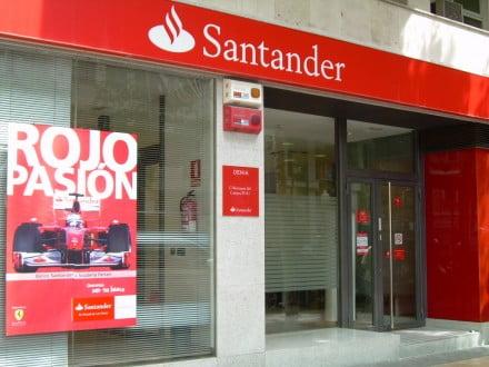 Banco santander d for Oficinas banco santander valencia