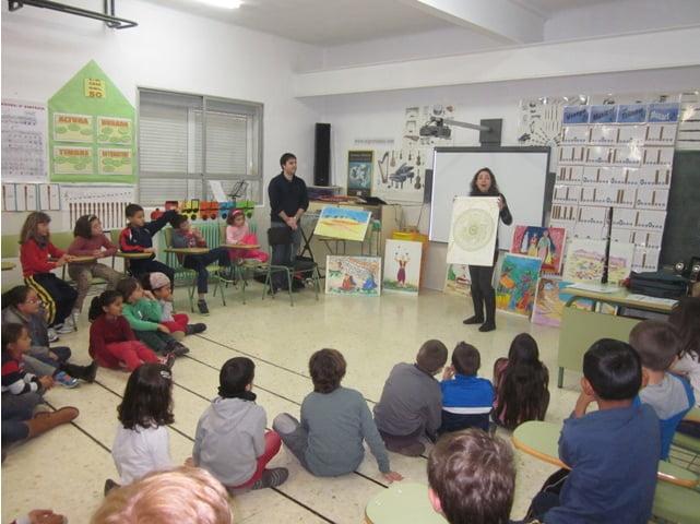 Clases en el Colegio Cervantes