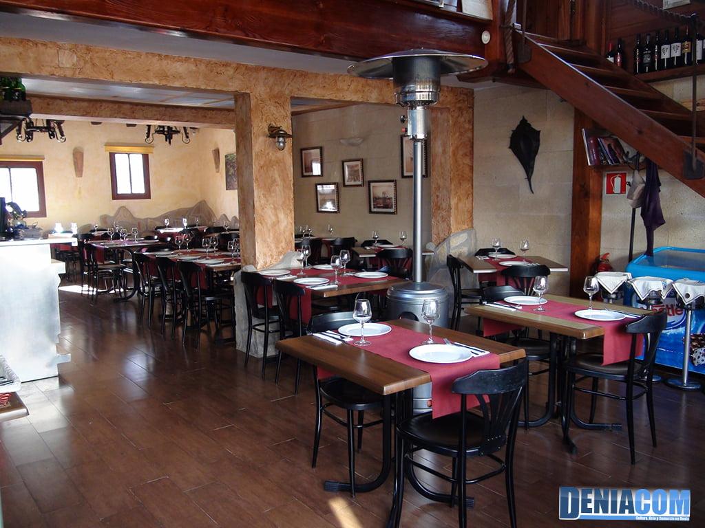 Eetkamer El Marino Dénia Restaurant - Dénia.com
