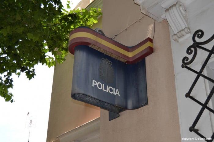 Poste de police national à Dénia