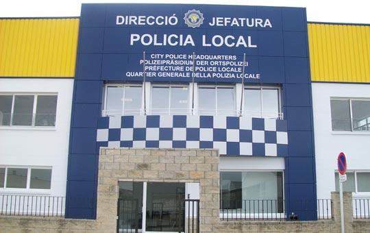 Comisaria policia local d for Oficina de policia