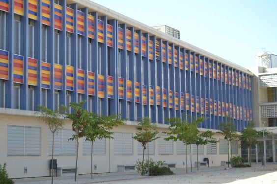Edificio del IES Número 3 de Dénia
