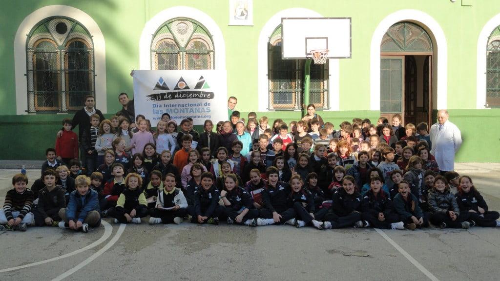 El Colegio Maristas celebra el Día de las Montañas