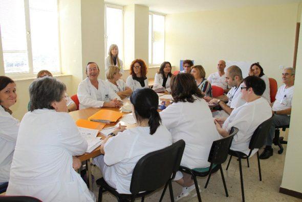 Equipo Hospital La Pedrera