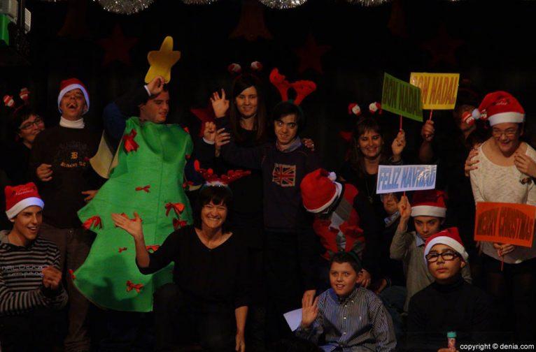 Festival de Navidad en el colegio Raquel Payà