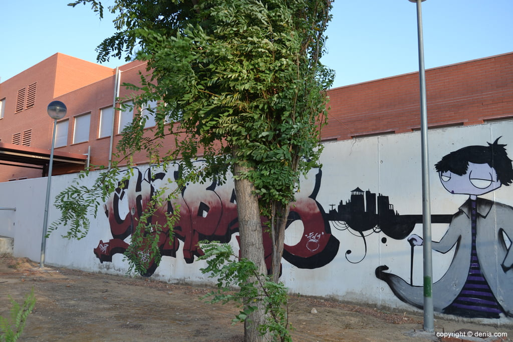 Graffitti en el Chabàs